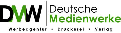 Logo von DMW Deutsche Medienwerke aus Stuttgart www.deutschemedienwerke.de